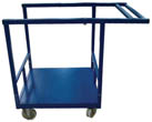 Transport and storage trolleys