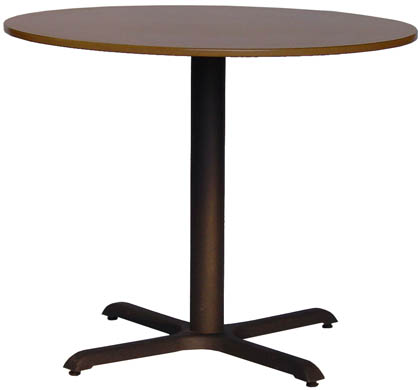 Fixed Leg Pedestal Table